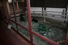 2014022113廊下から見た中庭.JPG