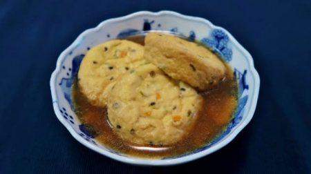 がんも ひろず 豆腐の煮物 植物性たんぱく質