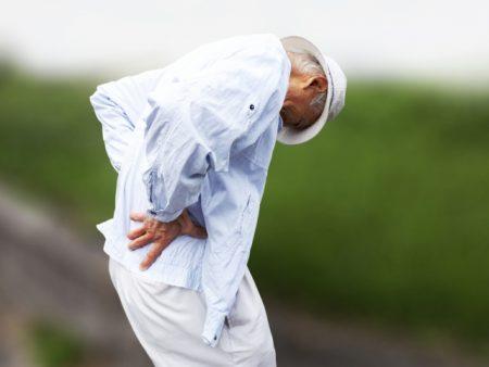 サルコペニアが腰痛の原因に