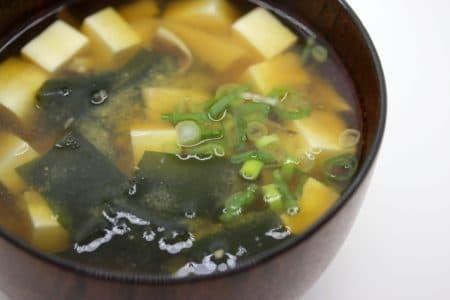 減塩味噌汁