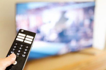テレビ報道のイメージ写真